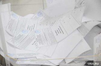 голосование конституция данные ЦИК