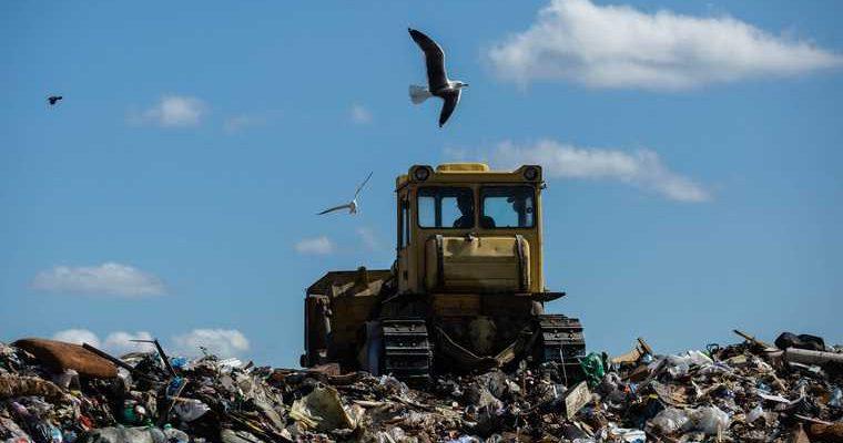 Россия 32 региона заканчиваться место мусор полигон