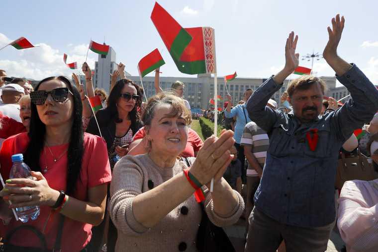 число задержанных в Минске