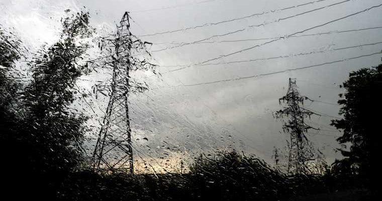 шторм в Кургане