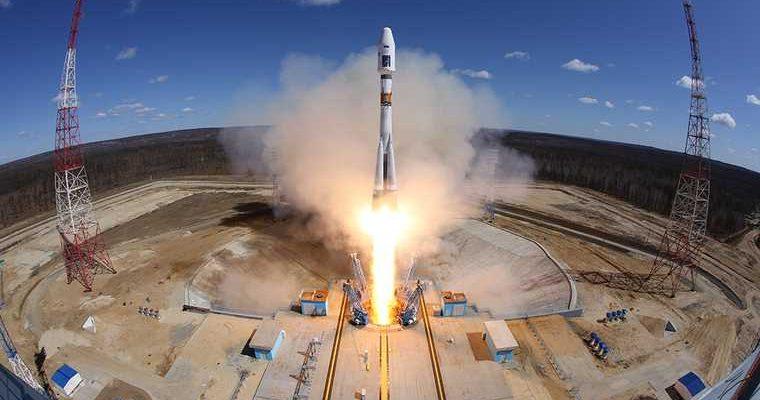 ракета-носитель стартовала с Байконура