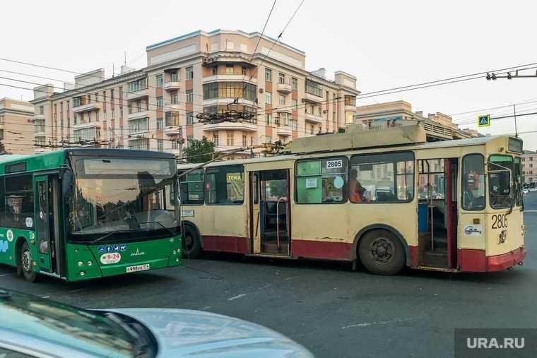 коронавирус в автобусе