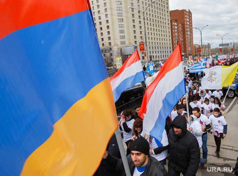 Бунт Армения Азербайджан