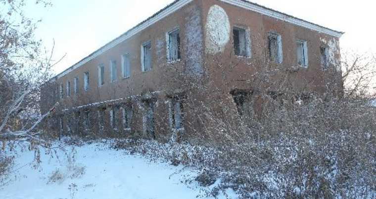 В Курганской области здание больницы выставили на торги. Фото
