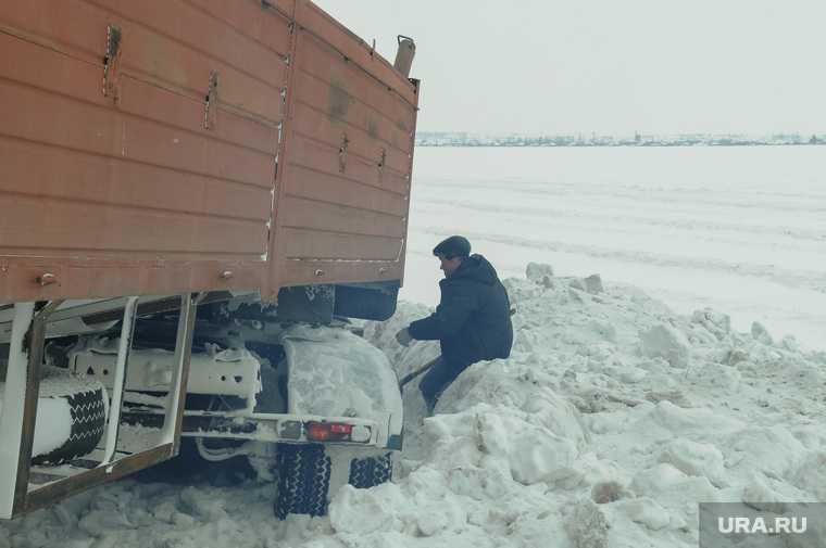 Челябинская Курганская область мороз Упрдор