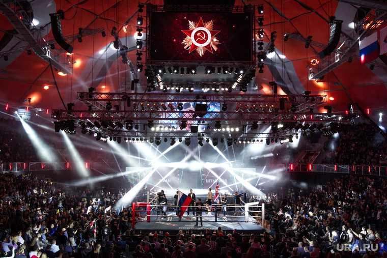 Шамиль Мусаев массовая драка турнир MMA
