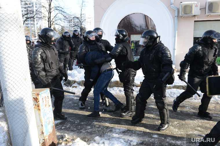 Челябинская область Челябинск Магнитогорск 31 января Навальный митинг задержания итоги