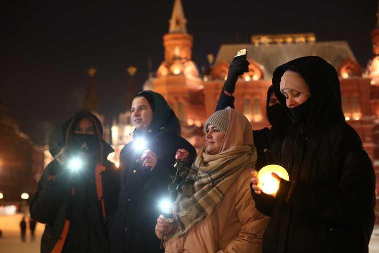 В России завершились акции в поддержку Навального. Фото