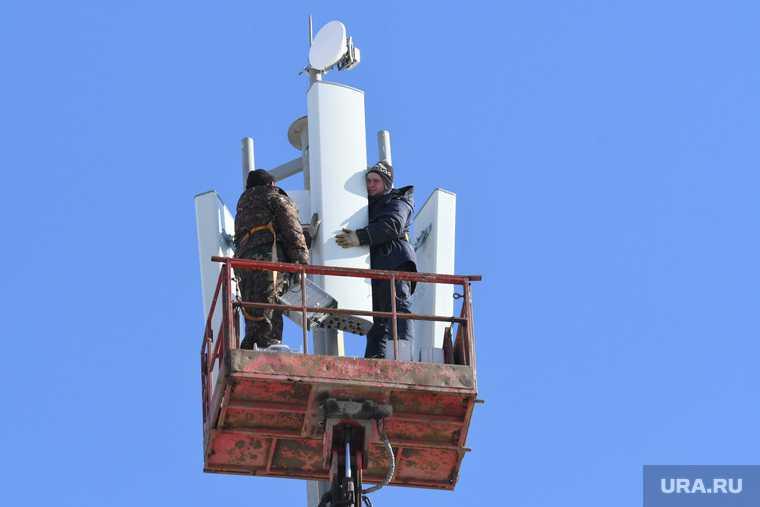 вышка связи 5G Уралмаш Екатеринбург полиция разогнала протестующих