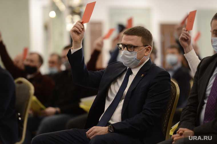Текслер на федерации бокса. Челябинск