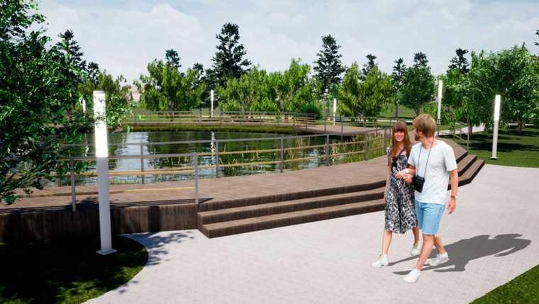 Тюменские власти раскрыли, как будет выглядеть исторический сад. Фото