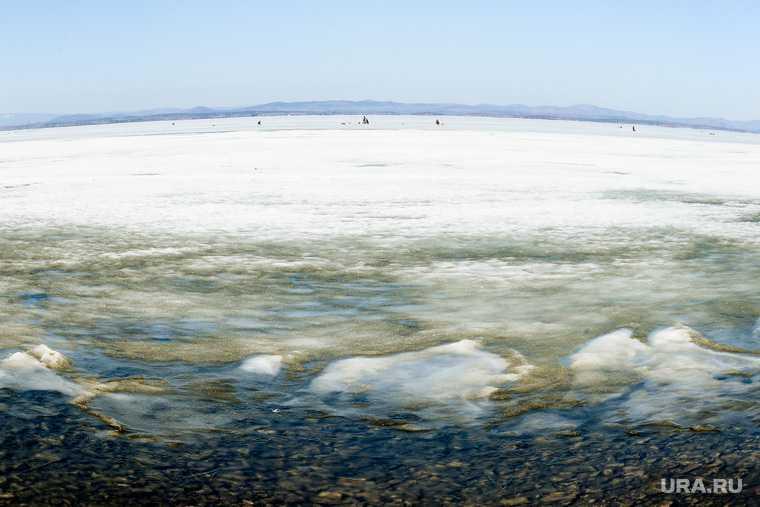 тургояк нива ушла под лед