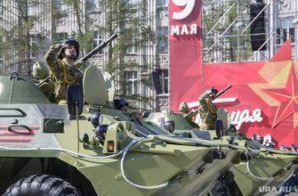 День Победы в Тюмени