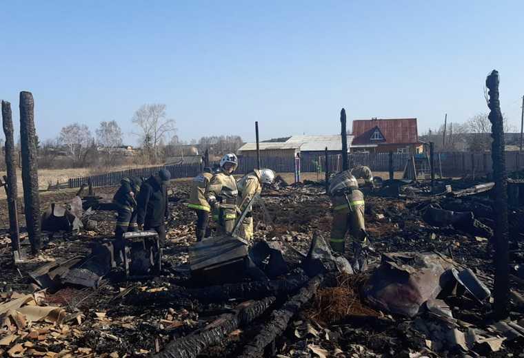 Следователи назвали причину пожара, где погибли 5 детей. Фото