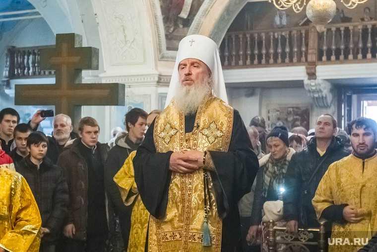 Митрополит Тобольский и Тюменский Димитрий. Тюмень
