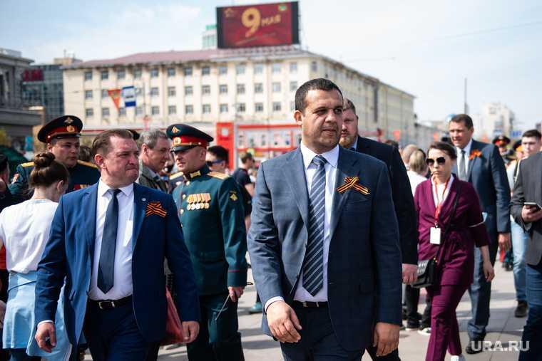 Парад, посвященный 76-й годовщине Победы в Великой Отечественной войне. Екатеринбург