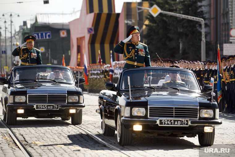 9 мая парад победы трансляция URA.RU Екатеринбург
