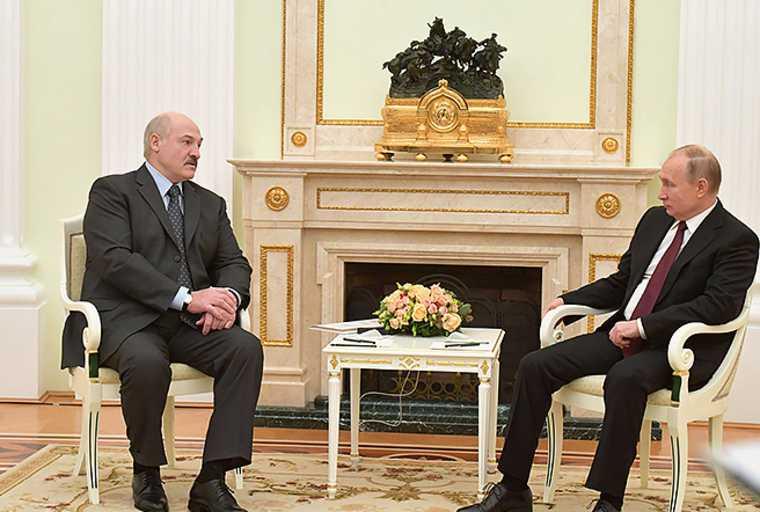 Лукашенко Путин дружба
