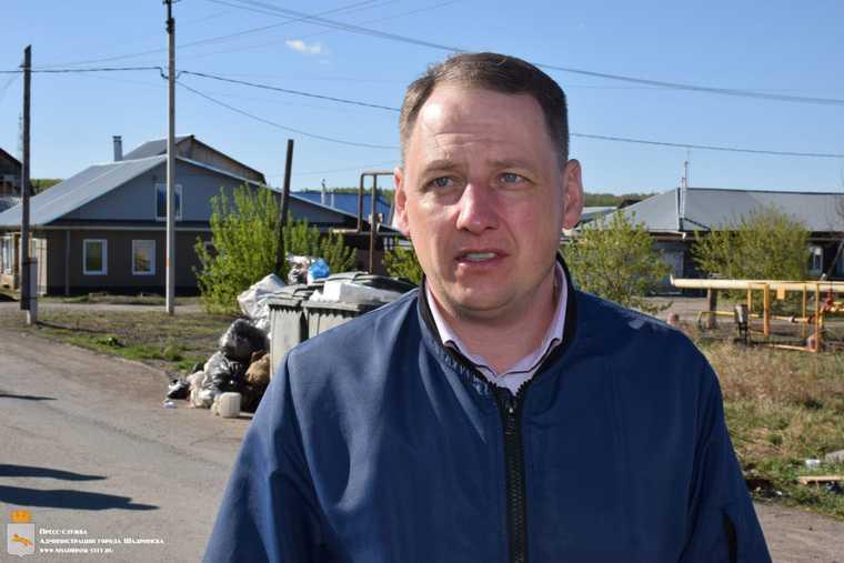 Новый мэр Шадринска устроил первый разнос из-за мусора. Фото