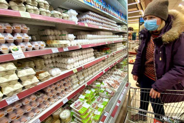 Рост цен на продукты в Тюмени