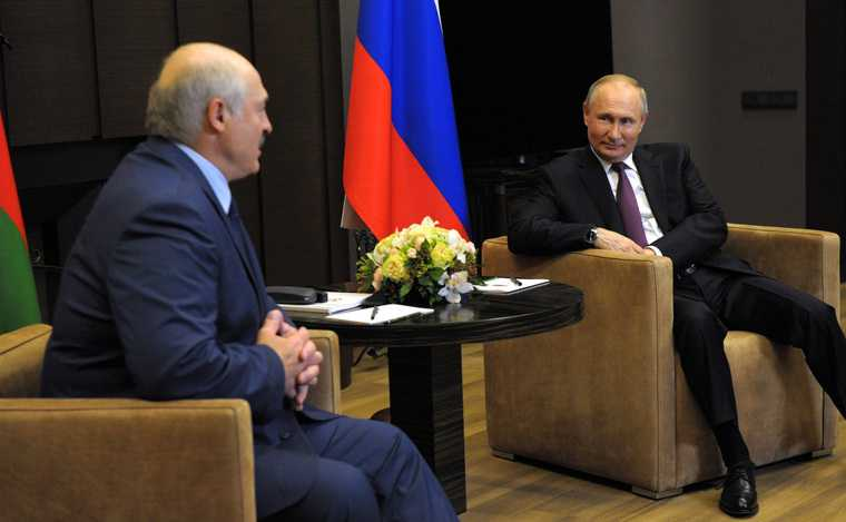 Белоруссия Путин