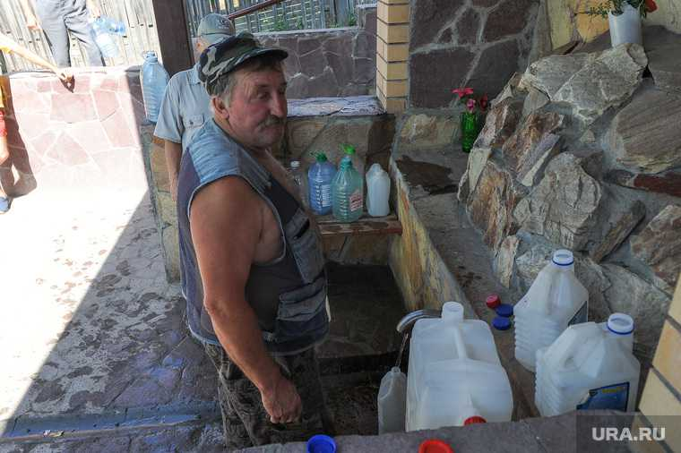 Челябинская область губернатор Текслер заместитель Голицын министр Элбакидзе водоснабжение перебои отправил аномальнная жара