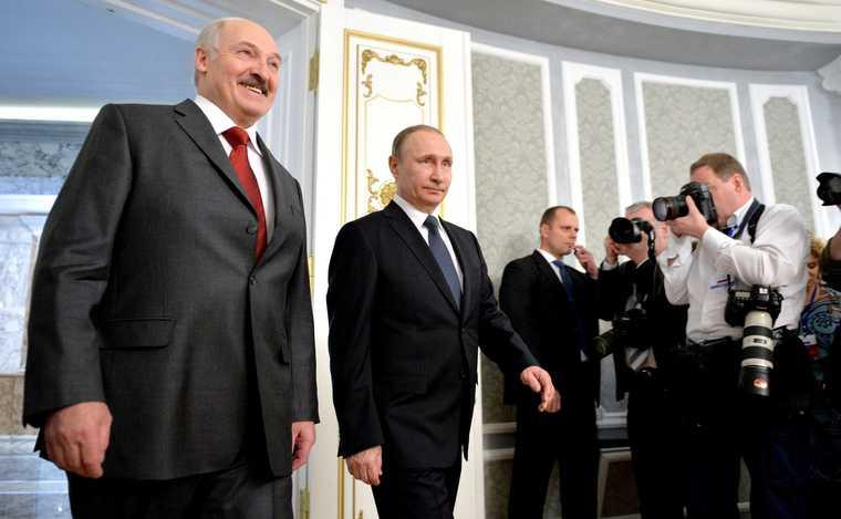 Беларусь Россия Путин Лукашенко