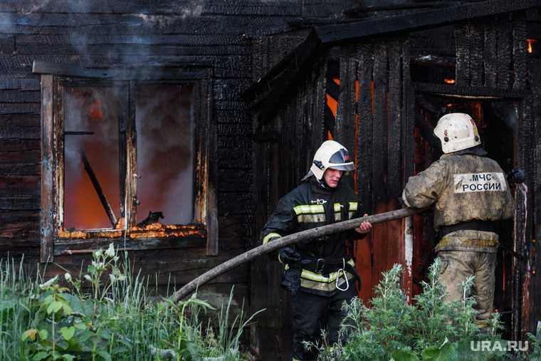 пожар Пермский края погибли пять человек