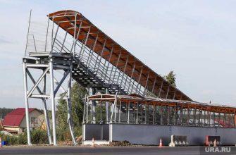 мост обрушился