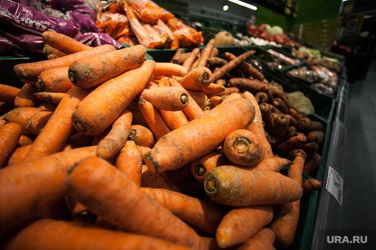выросли цены на овощи Екатеринбург Свердловская область