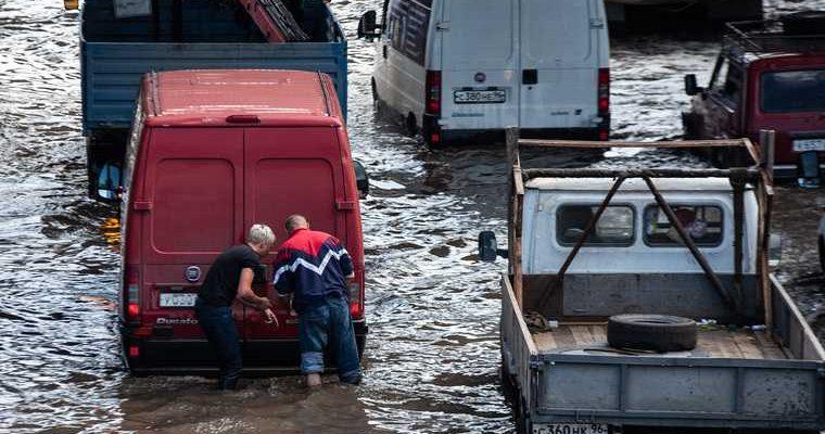 пострадавшие потоп Крым
